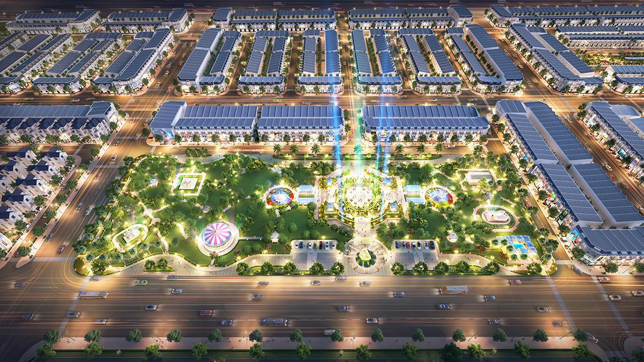 Century City sân bay Long Thành